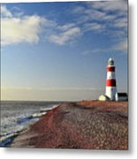 Orford Ness Lighthouse Metal Print