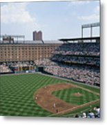 Orioles Park. Kansas City Royals Metal Print by Brian Gordon Green