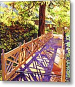 Ornamental Bridge Metal Print
