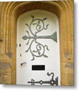 Ornate Door 1 Metal Print