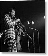 Ornette Coleman On Trumpet Metal Print