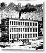 Otis Elevator Factory Metal Print