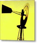 Otoe County Windmill Metal Print