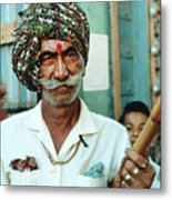 Our Man In India Metal Print