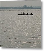 Out Fishing-1 Metal Print