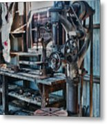 Out Of Work Metal Print by Sandra Bronstein