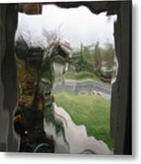 Out The Window Metal Print by Eileen Shahbazian