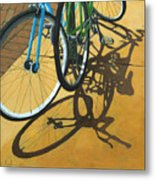 Out To Lunch Metal Print by Linda Apple