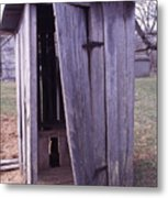 Outhouse2 Metal Print