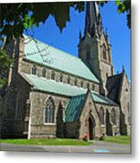Outside Christ Church Cathedral 1 Metal Print