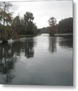 Overcast On The Rainbow River Metal Print
