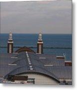 Overlooking Navy Pier Metal Print