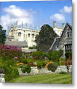 Oxford England Metal Print