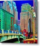 p1070571b  Boston  Bridge Metal Print