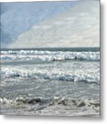 Pacific Beach Metal Print