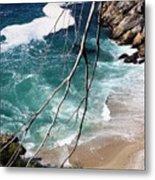 Pacific Coastline  Metal Print
