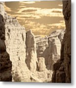 Painted Canyon Trail Metal Print