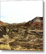 Painted Desert Winter 0583 Metal Print
