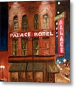 Palace Hotel Metal Print