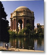 Palace Of Fine Arts Sf Metal Print