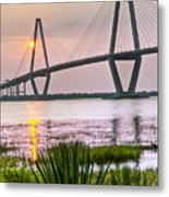 Palm Harbor Sunset - Charleston Sc Metal Print