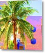 Palm Of Miami Metal Print