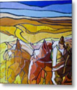 Palouse Trio Metal Print