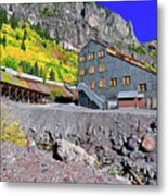 Pandora Mill - Telluride - Colorful Colorado Metal Print