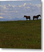 Panorama Of Alberta Metal Print by Al Bourassa