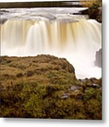 Panoramic Waterfall Manitoba Metal Print