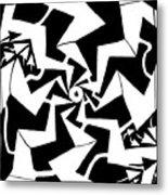 Paparazzi Maze Metal Print