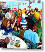 Parade Of Clowns In Nj Metal Print