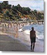 Paradise Cove Metal Print