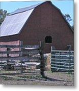 Paradise Valley Farm Montana Metal Print