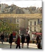 Paris Left Bank Metal Print