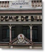 Paris Pool Hall Metal Print