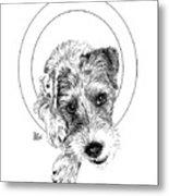 Parson Russell Terrier @elmo.parson Metal Print