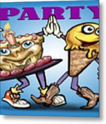 Party Metal Print