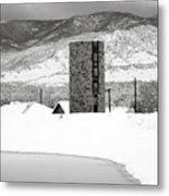Pastoral Winter Metal Print