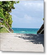 Path To Paradise Metal Print