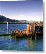 Patterson Bridge Oregon Metal Print