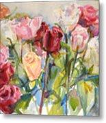 Paul's Roses Metal Print