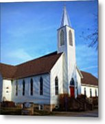 Peace Church Metal Print