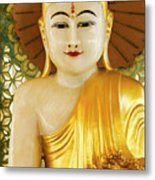 Peaceful Buddha Metal Print