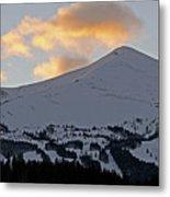 Peak 8 At Dusk - Breckenridge Colorado Metal Print