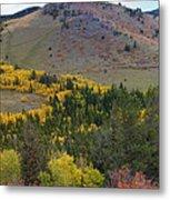 Peak To Peak Highway Boulder County Colorado Autumn View Metal Print