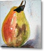 Pear Study Metal Print