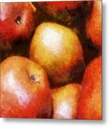 Pears D'anjou Metal Print