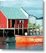 Peggy's Cove Metal Print