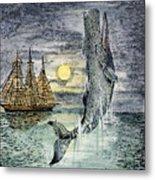 Pehe Nu-e: Moby Dick Metal Print